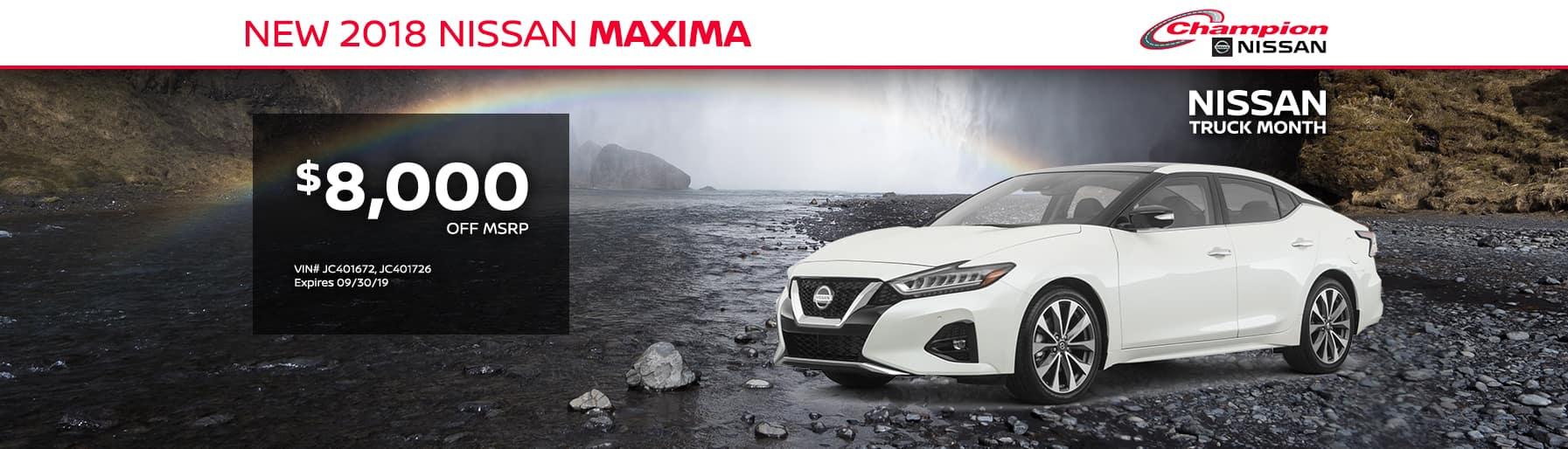 desktop TK 2018 Nissan Maxima