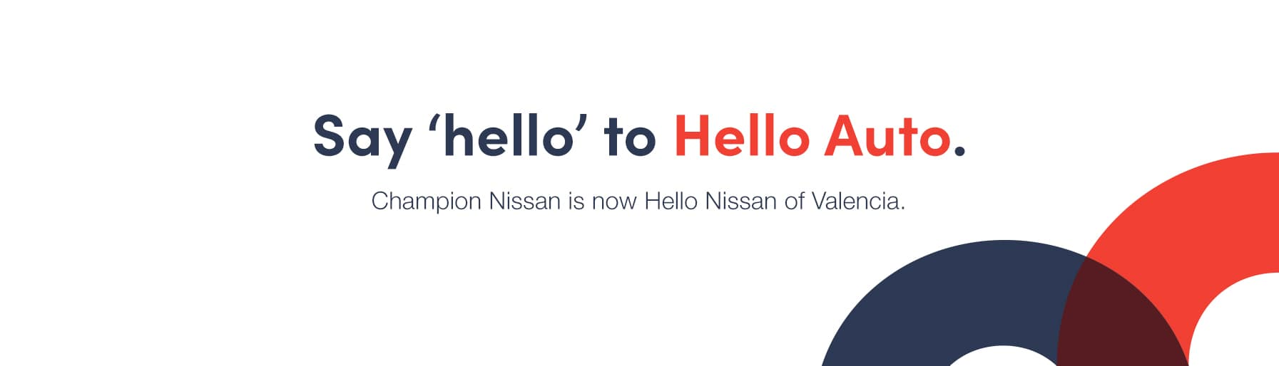 say hello to hello nissan