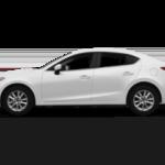 2015 Mazda3 white