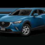 2016 CX-3 blue