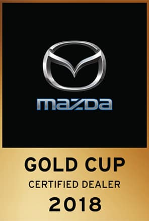 Mazda Gold Cup Certified Logo