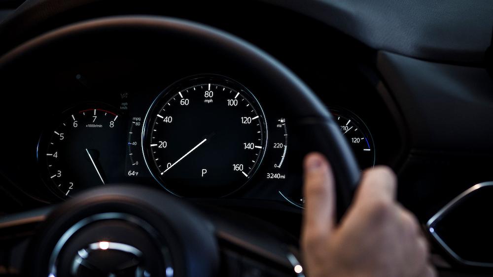 2019 Mazda CX-% Signature Instrument Cluster