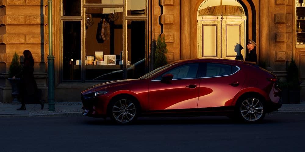 2019 Mazda3 Hatchback parked