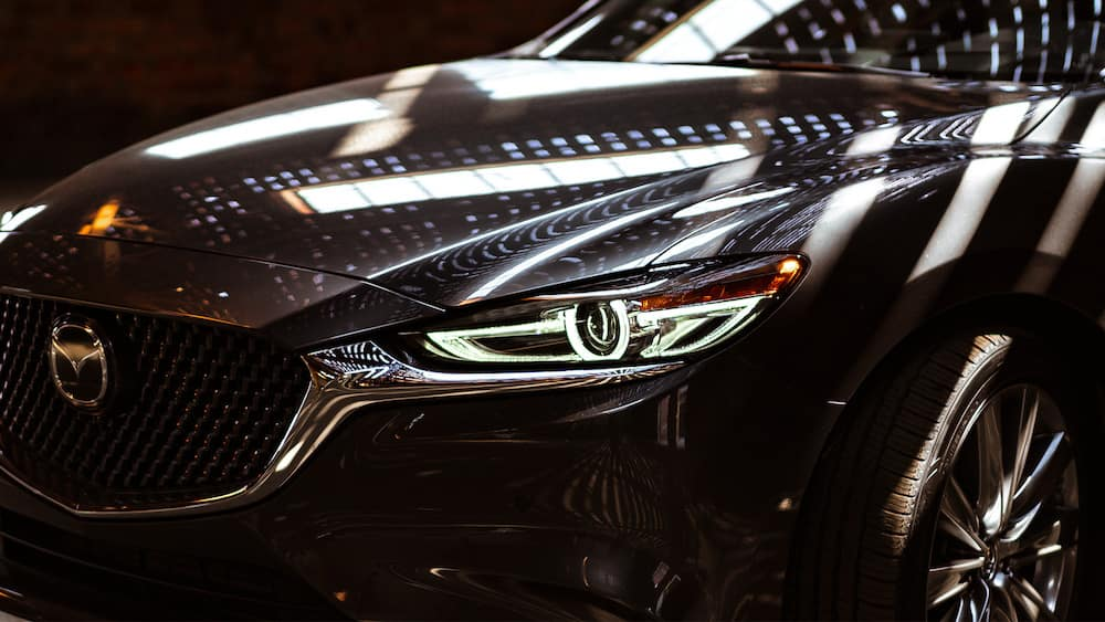 2019 Mazda6 headlight detail