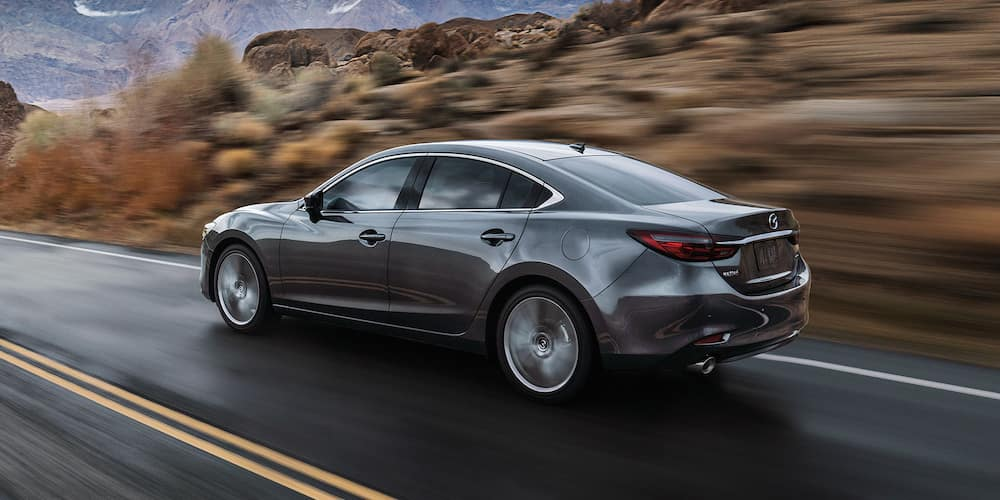 2019 Mazda6 on the road