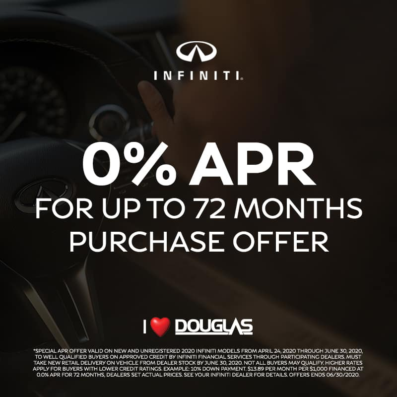 Douglas INFINITI Exclusive Offers - 0% APR