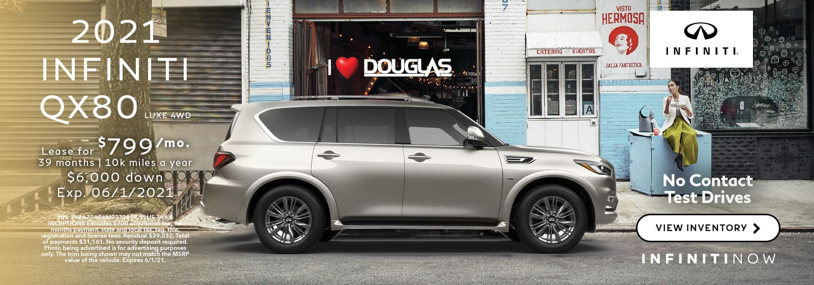 QX80 May Offer