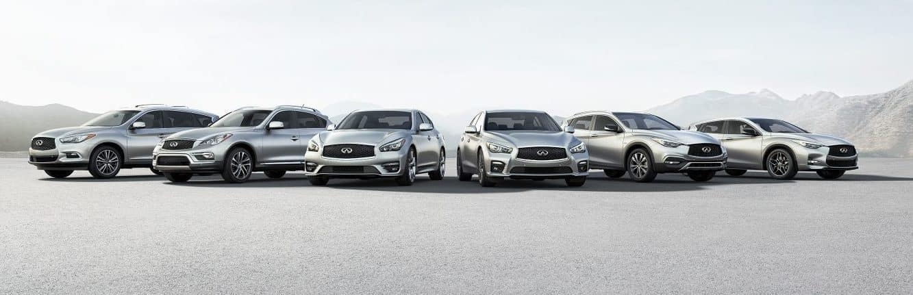 New INFINITI Model Lineup | Dreyer & Reinbold INFINITI Greenwood