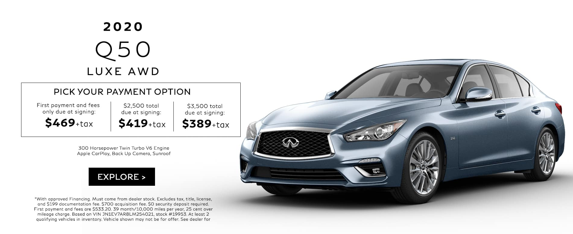 Q50 Lease Offer