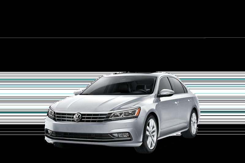 2018 Volkswagen Passat white background