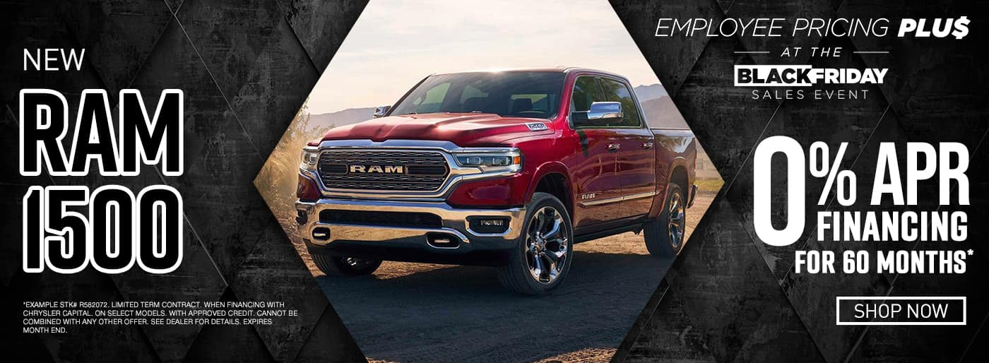 New Ram 1500 0% APR Financing for 60 Months