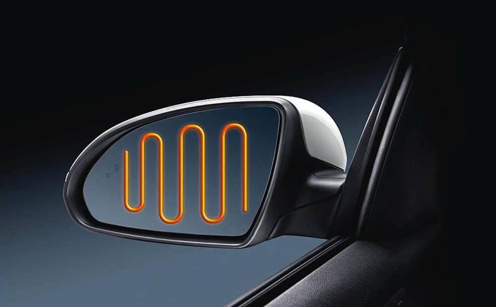 2019 Kia Optima heated mirror