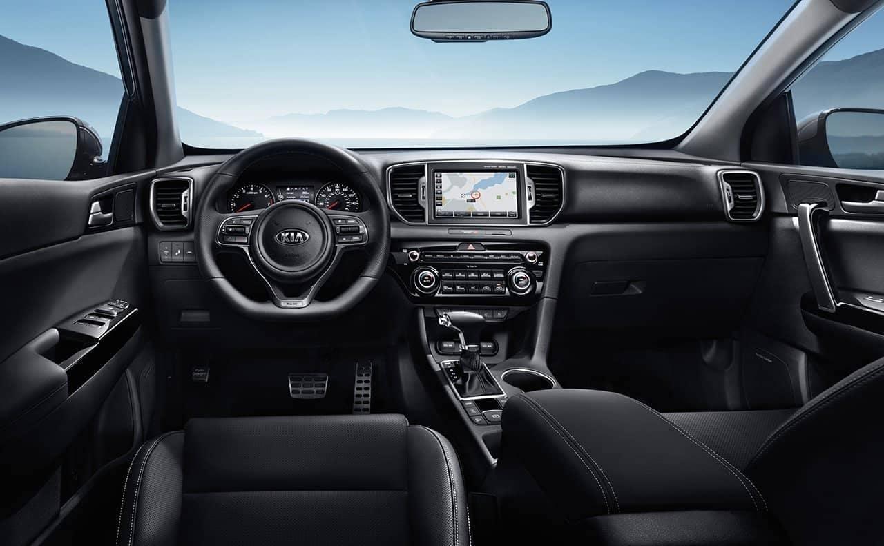 2019 Kia Sportage SX turbo interior