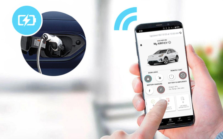 2020 Niro EV App