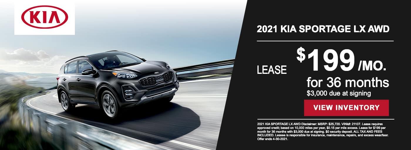 EAG_Kia_2021 KIA SPORTAGE LX AWD