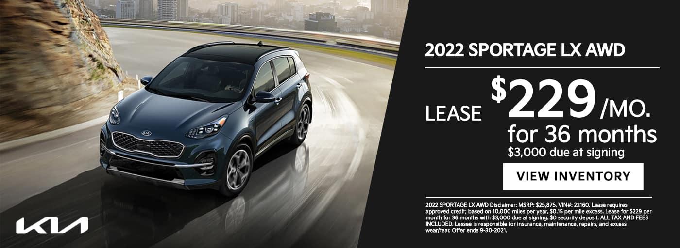 EAG_Kia_2022 SPORTAGE LX AWD