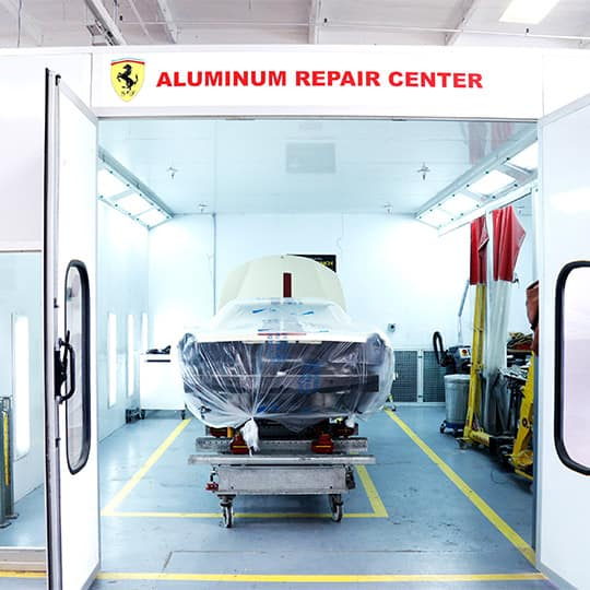 newport beach collision center aluminum certified