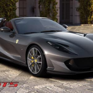 Ferrari 812 GTS front angle view