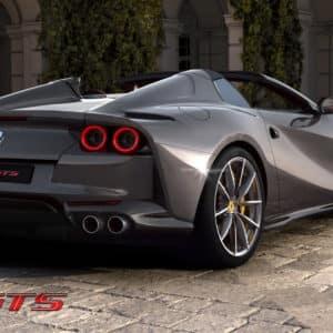 Ferrari 812 GTS back