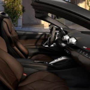 Ferrari 812 GTS seats
