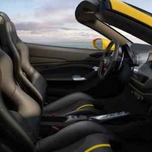 Ferrari F8 Spider seats