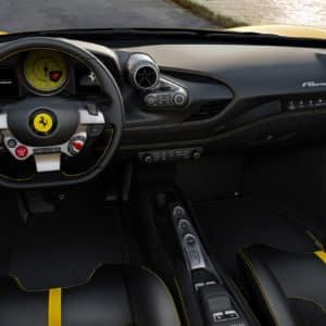 Ferrari F8 Spider dashboard