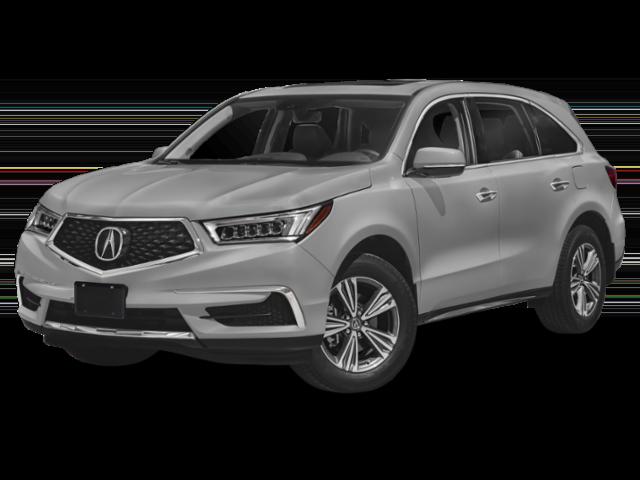 2019 Acura MDX gray