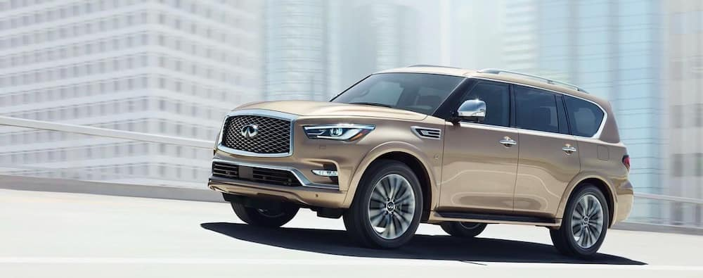 2019 INFINITI QX80 in the city