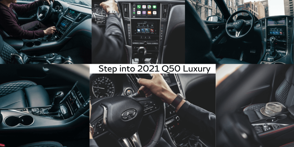 INFINITI 2021 Q50 Interior