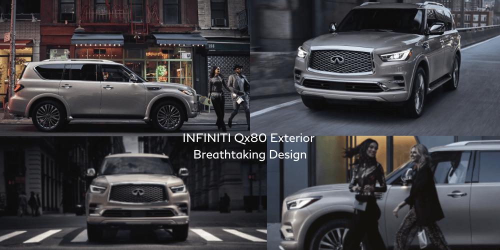 INFINITI 2021 QX80 exterior