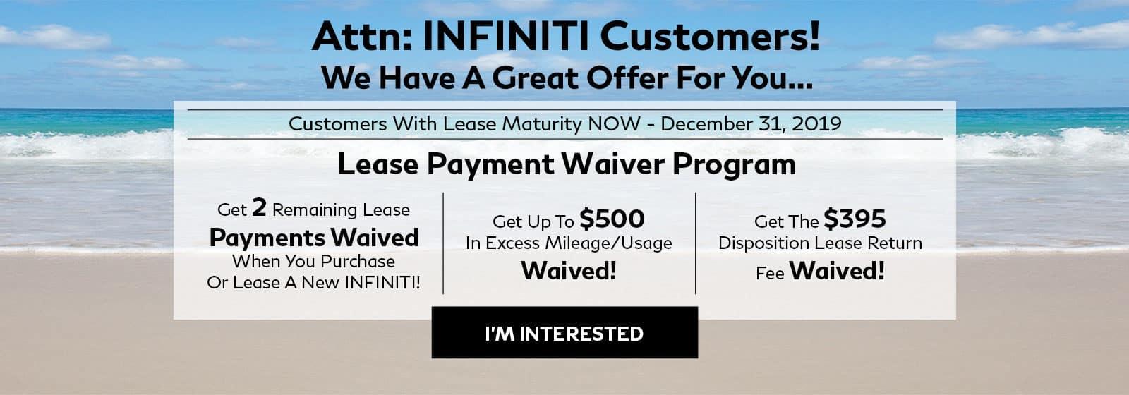 George Harte INFINITI | INFINITI Lease & Loans in
