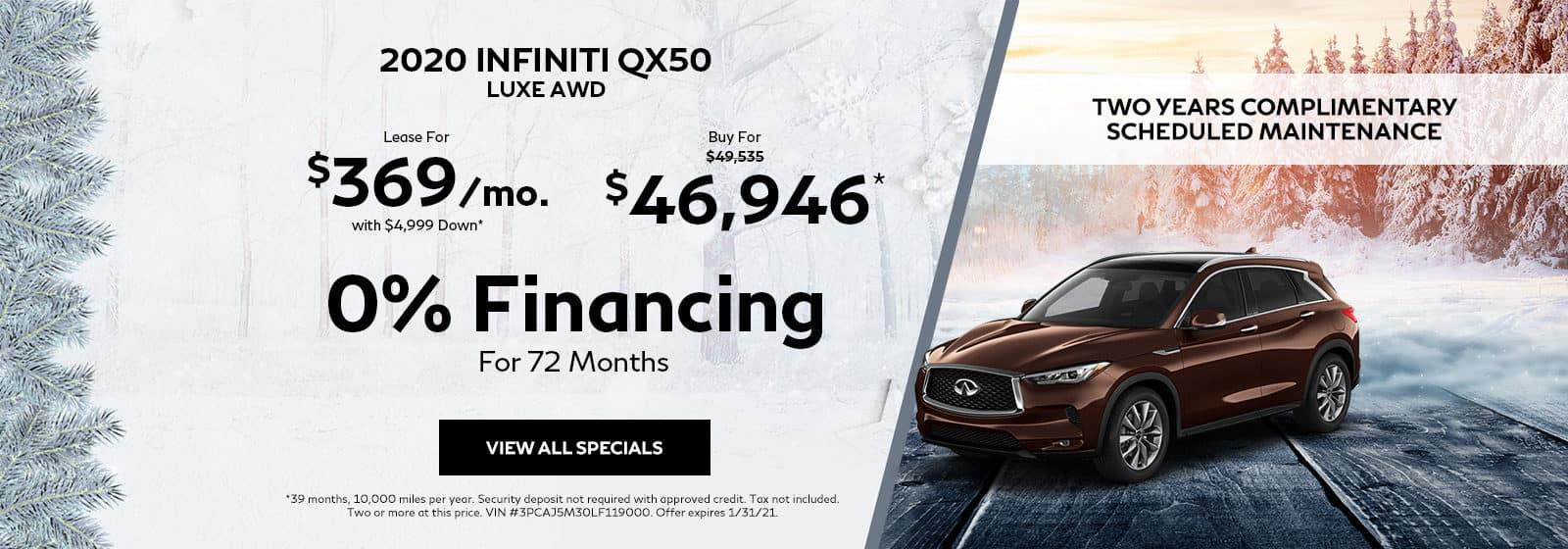 QX50 Special