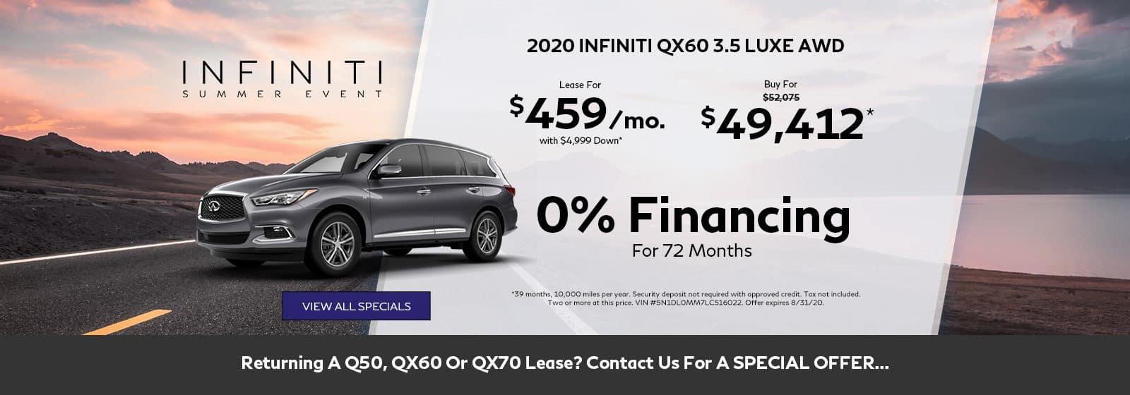 QX60 Special
