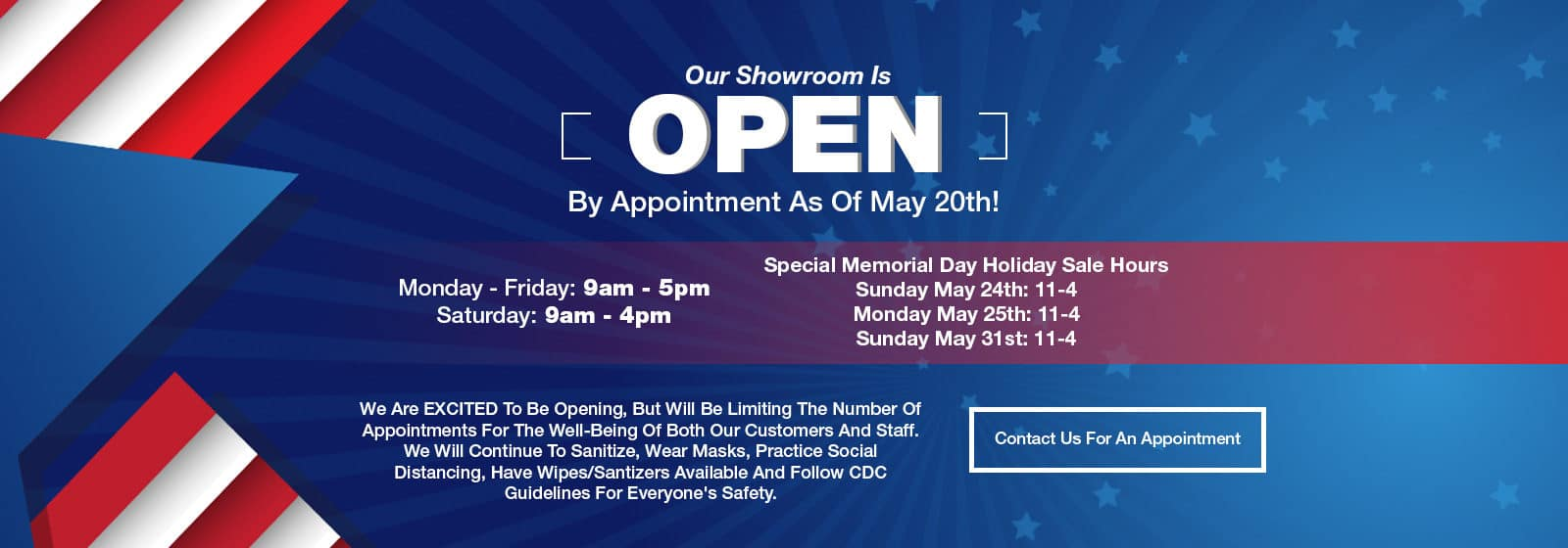 Service Open By Appt