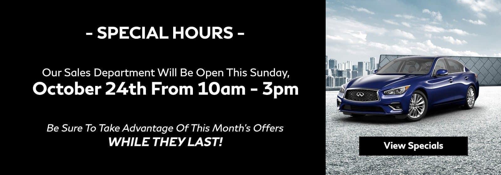 Open Sunday