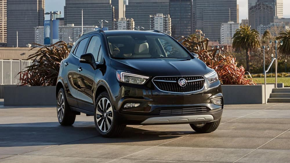 2019 Buick Encore in the city