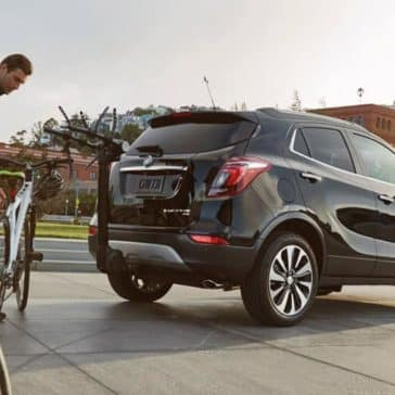 2019 Buick Encore at the park