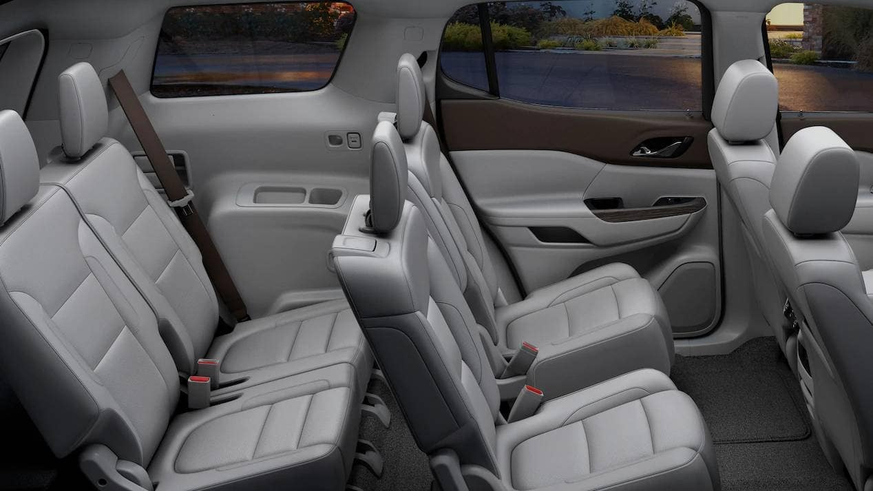 2019 GMC Acadia seating
