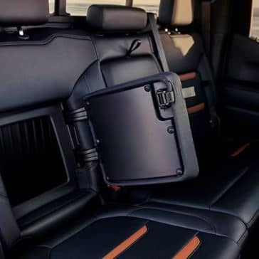 2019 GMC Sierra 1500 rear seat storage