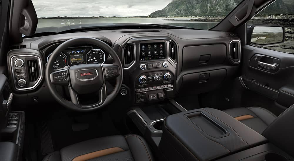 2019 GMC Sierra 1500 dashboard
