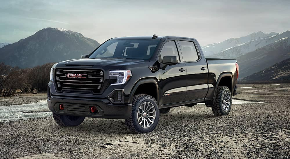 2019 GMC Sierra 1500 in the mountains