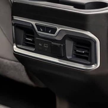 2019 GMC Sierra 1500 rear console