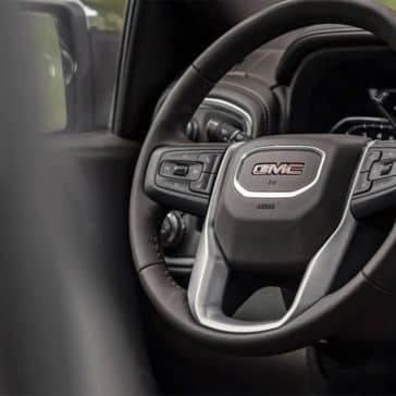 2019 GMC Sierra 1500 steering wheel