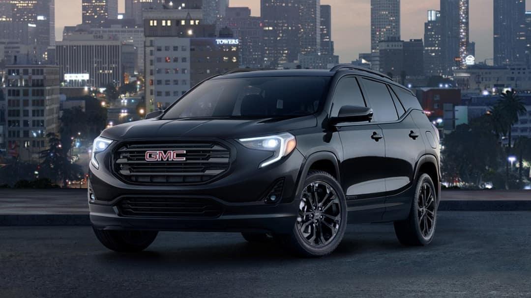 2019 GMC Terrain black edition