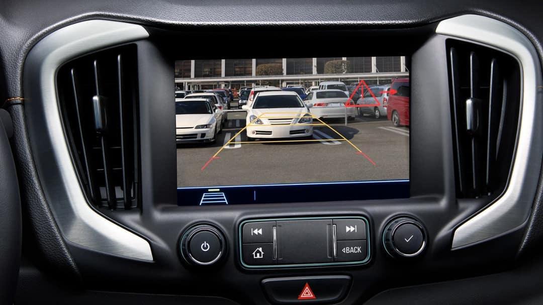 2019 GMC Terrain rear view camera