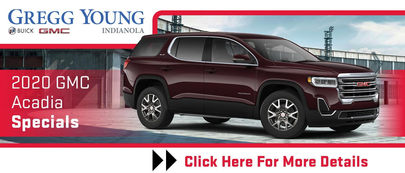 Click Here for 2020 GMC Acadia Specials