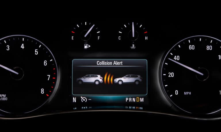 2020 Buick Encore Front Collision Warning
