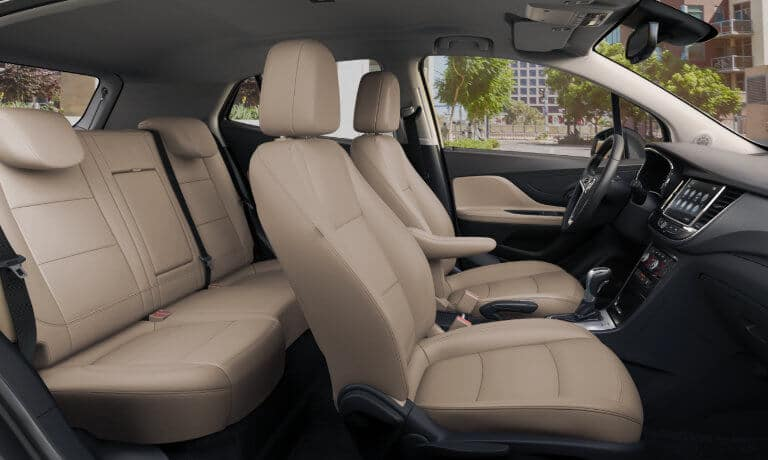 2020 Buick Encore interior side shot
