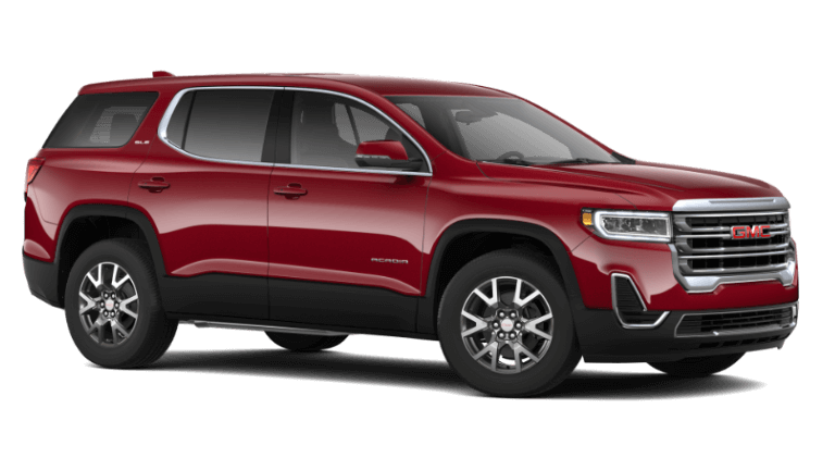 Red Quartz 2020 GMC Acadia SLE