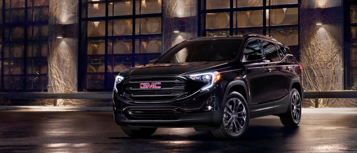 2020 GMC Terrain off-roading
